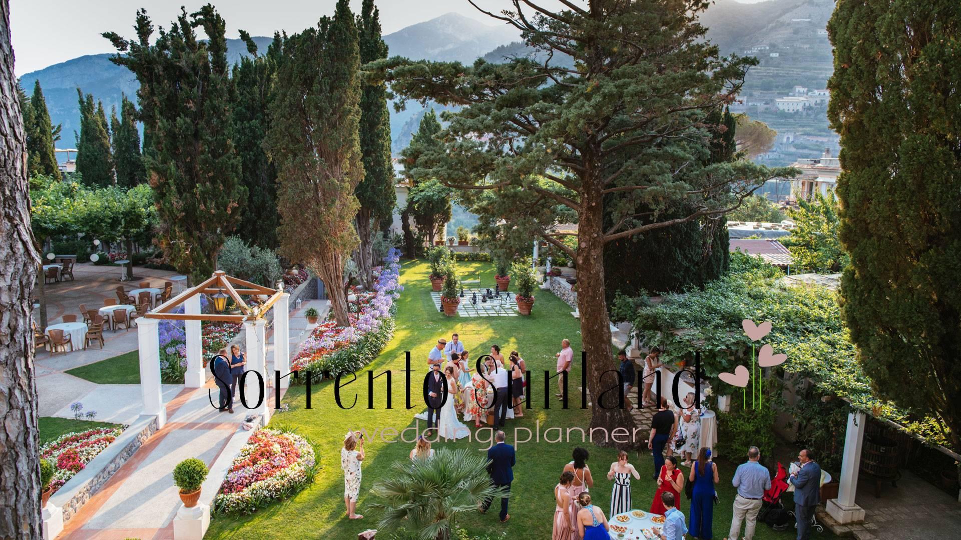 beautiful Villa's garden in Ravello